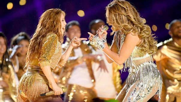 Shakira y J.Lo brindaron una inolvidable presentación con ritmos latinos en el Super Bowl 2020.