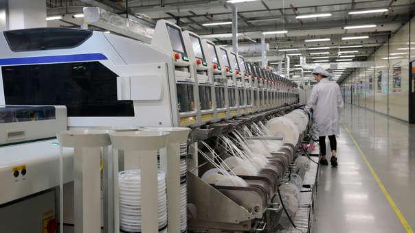 Diversas fábricas chinas comienzan a retomar actividades tras el Año Nuevo Lunar