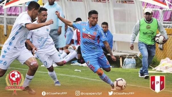 Deportivo Garcilaso vs. Llacuabamba por la Copa Perú