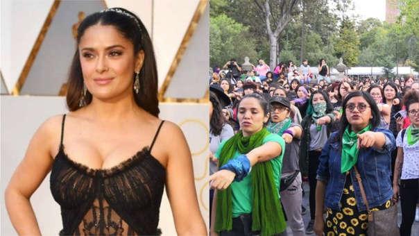 La actriz compartió el himno creado por 'Las Tesis' que ha dado la vuelta al mundo.