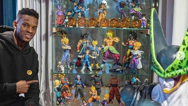 Están todos los personajes: Semedo develó su espectacular colección de Dragon Ball