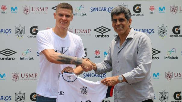 Sebastian Gonzalez Zela llegó a préstamo a San Martín