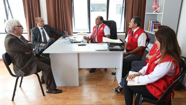 Miembros del Pleno del Jurado Nacional de Elecciones (JNE) visitaron los Jurados Electorales Especiales (JEE) para evaluar los avances en la resolución de actas electorales observadas.