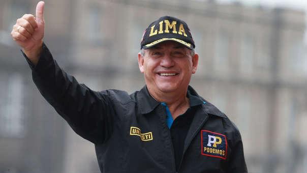 Urresti usó un gorro que decía 'Lima' para su campaña electoral del 2018