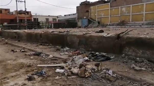 Depósito de basura en La Perla