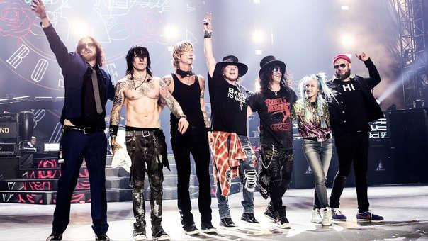 Guns N'Roses regresa al Perú.