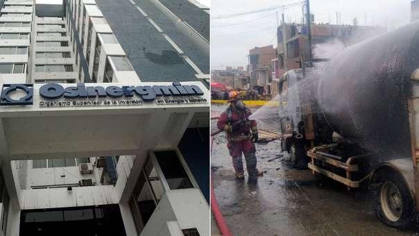 Informe técnico sobre lo que ocurrió en Villa El Salvador halló responsabilidades en Osinergmin.