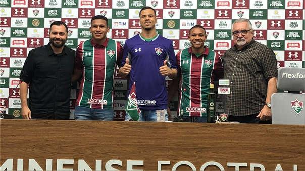 Fernando Pacheco fue presentando de manera oficial en Fluminense.