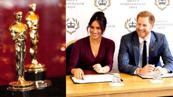 Meghan y Harry rechazan invitación de la Academia.