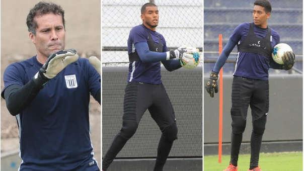 Butrón, Rivadeneyra y Espinoza son los porteros de Alianza Lima para la temporada 2020.