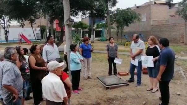 Vecinos de San Juan de Miraflores