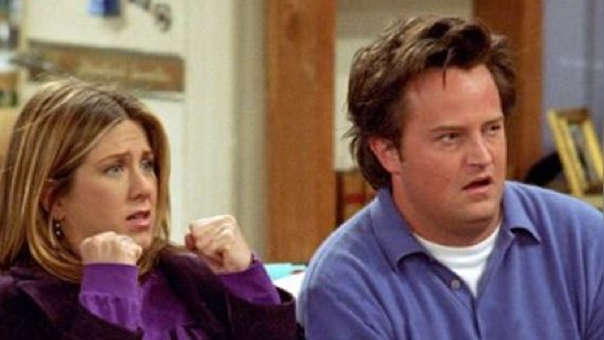 Jennifer Aniston y Matthew Perry.