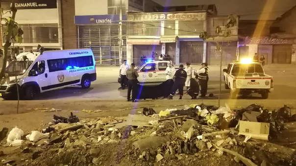 Crimen en Villa El Salvador