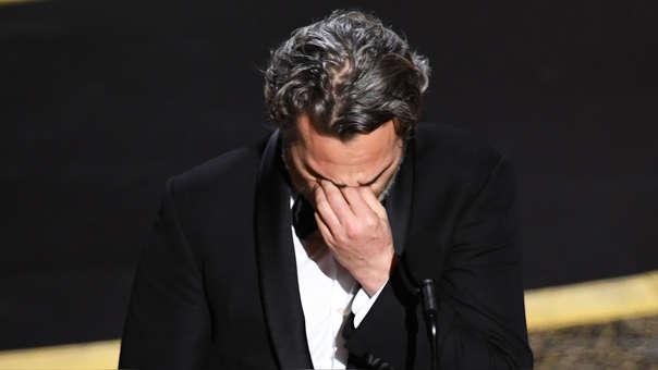 Oscar 2020: Joaquin Phoenix se quiebra al recordar a su hermano River al recibir su premio a Mejor Actor