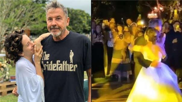Ricardo Montaner Bailo En La Boda De Su Hija Evaluna La Cancion Que Le Compuso Cuando Era Nina Rpp Noticias