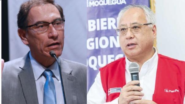 Martín vizcarra y Juan Carlos Liu Yonsen