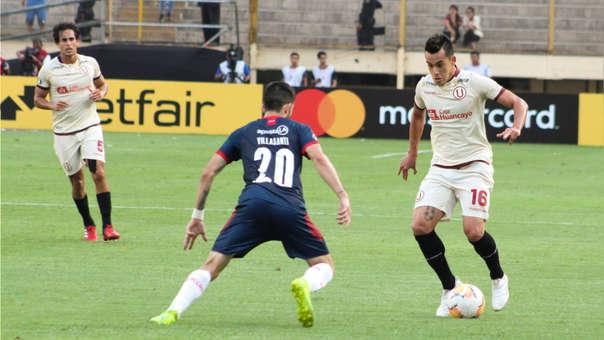 Iván Santillán ha sido titular en los tres partidos de Universitario en la Copa Libertadores