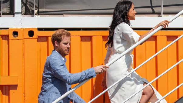 Príncipe Harry estuvo presente durante evento junto con su esposa Meghan Markle.