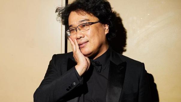 Bong Joon-ho mostró su emoción al convertirse en el Mejor director.