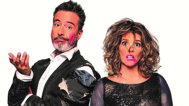 Carlos Carlín y Johanna San Miguel