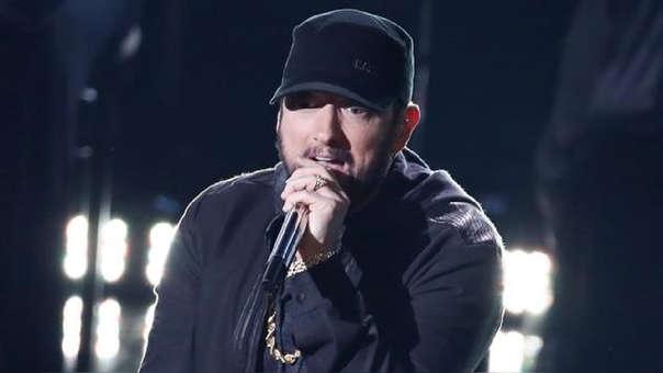 El rapero se presentó en la reciente ceremonia de los Oscar 2020.