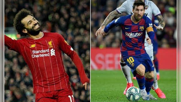 Messi y Salah se enfrentaron en las semifinales de la Champions League 2018-19.