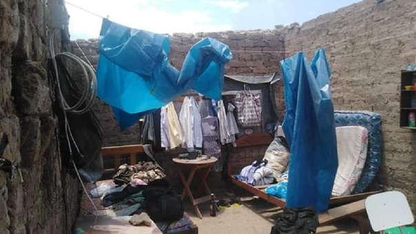 Fuertes vientos afectaron a familias de Oyotún