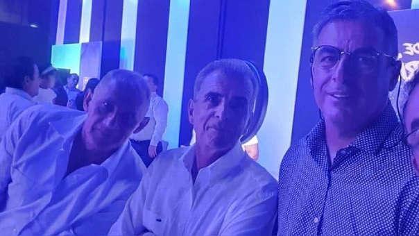 Pablo Bengoechea acudió a la fiesta de aniversario de Alianza Lima