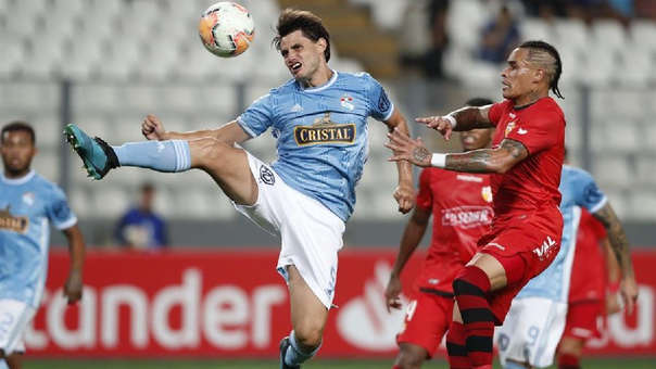 Sporting Cristal venció  2-1 a Barcelona por la Copa Libertadores