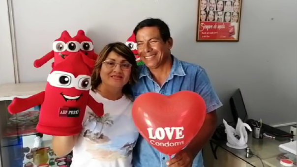 Ana Guevara y Humberto Estebes Añi