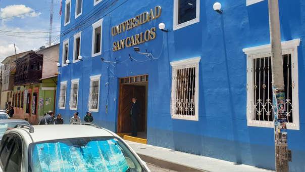hace 7 horas Andina Sunedu deniega licencia institucional a la Universidad Privada San Carlos.