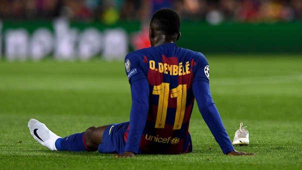 Revelan cuánto dinero pierde el Barcelona por las lesiones de Ousmane Dembélé
