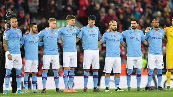 Manchester City marcha en el segundo lugar de la Premier League 2019-20.