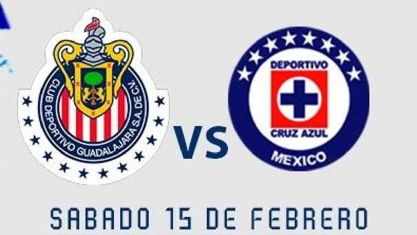 Guadalajara vs. Cruz Azul por la fecha 6 del Clausura por la Liga MX