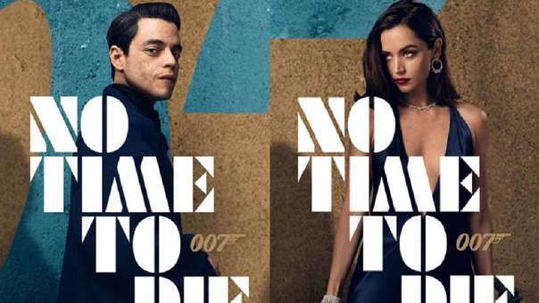 """Nuevo tráiler de la película de James Bond """"No time to die"""""""
