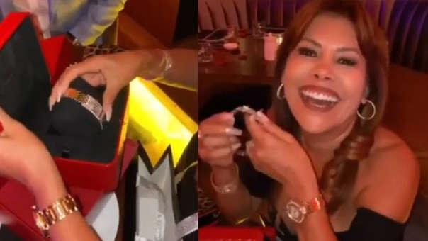 Magaly Medina pasó el Día del Amor en Miami