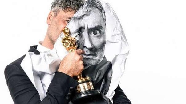 El director, ganador de un Oscar, no perdió el humor en esta fecha.