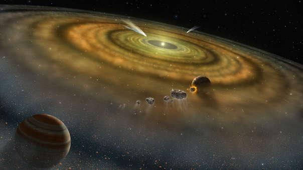 La creación de planetas es uno de los grandes misterios del Universo sin resolver.