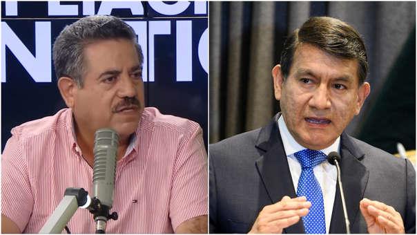 Manuel Merino y Carlos Morán