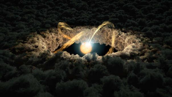 Nube protoplanetaria