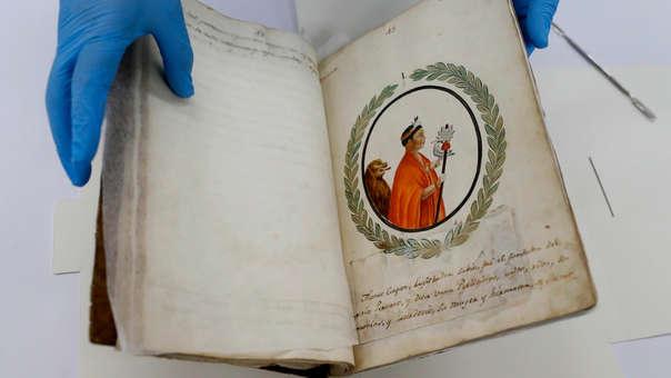 Manuscrito peruano del siglo XIX