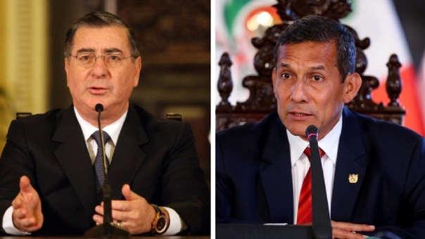 Óscar Valdés - Ollanta Humala