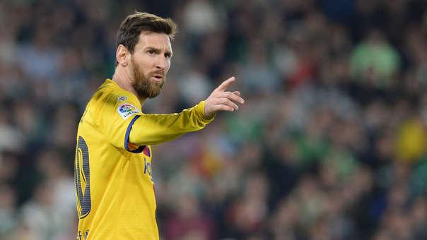 Lionel Messi fue elegido mejor deportista del año en los Premios Laureus 2020