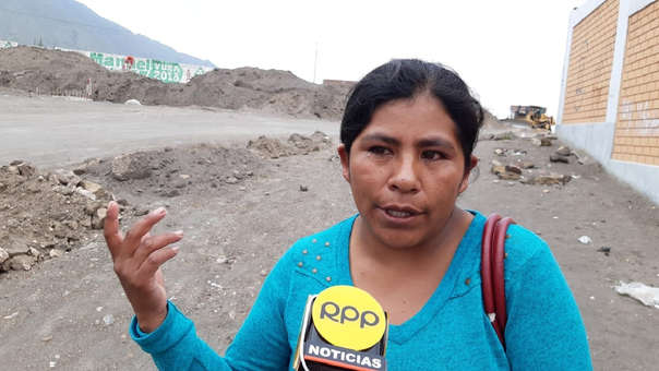 Elena Viza pide justicia.