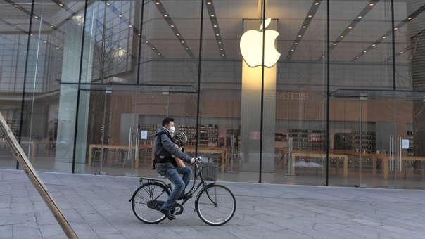 Varias provincias de China mantienen cerradas las tiendas de Apple
