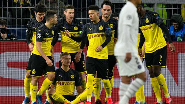 Borussia Dortmund vs. PSG por los octavos de final de la Champions League