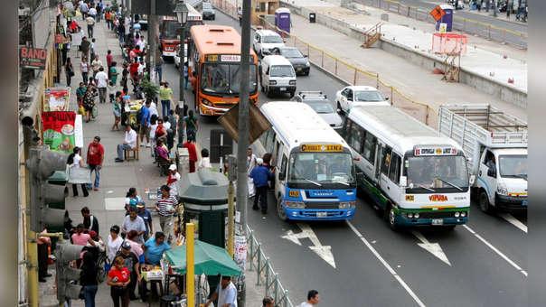 El transporte en Lima es uno de los principales problemas para los ciudadanos.