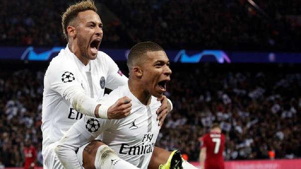 Mbappé se llevó a tres: el gol de Neymar ante el Borussia Dortmund