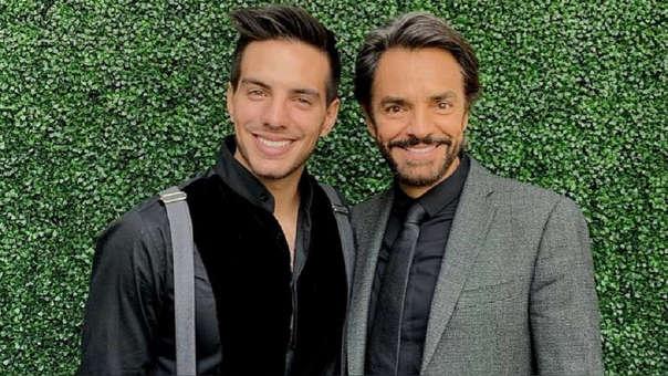 Vadhir Derbez y su padre Eugenio Derbez mantienen una cercana relación.