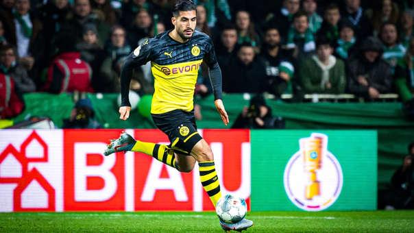 El alemán Emre Can retornó a Borussia Dortmund.